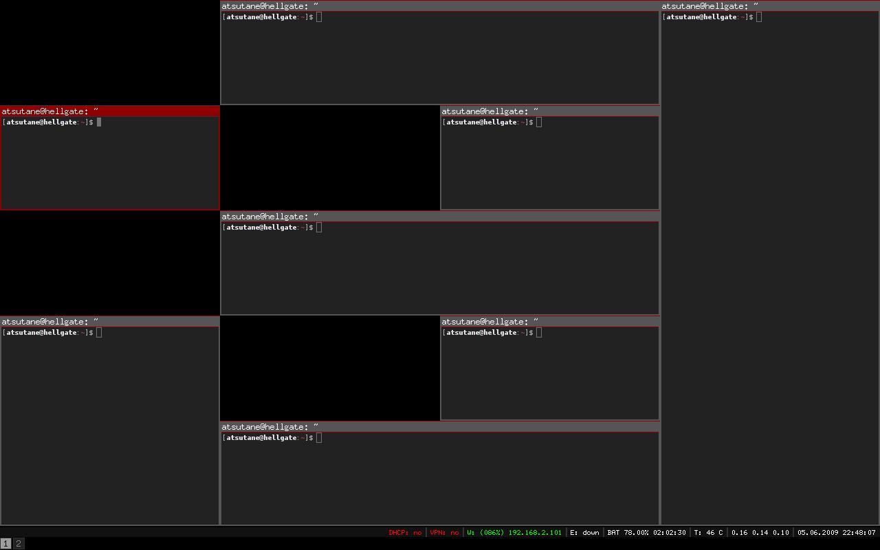 Lançado o i3 Window Manager v4.16